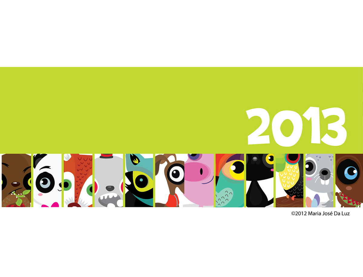 2013-2019 Calendar Calendar designs 2013 2019 on Behance