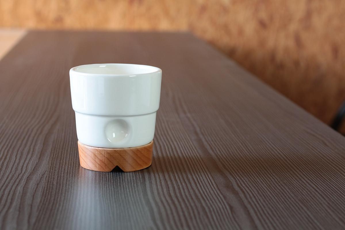 tumbler ceramic wood