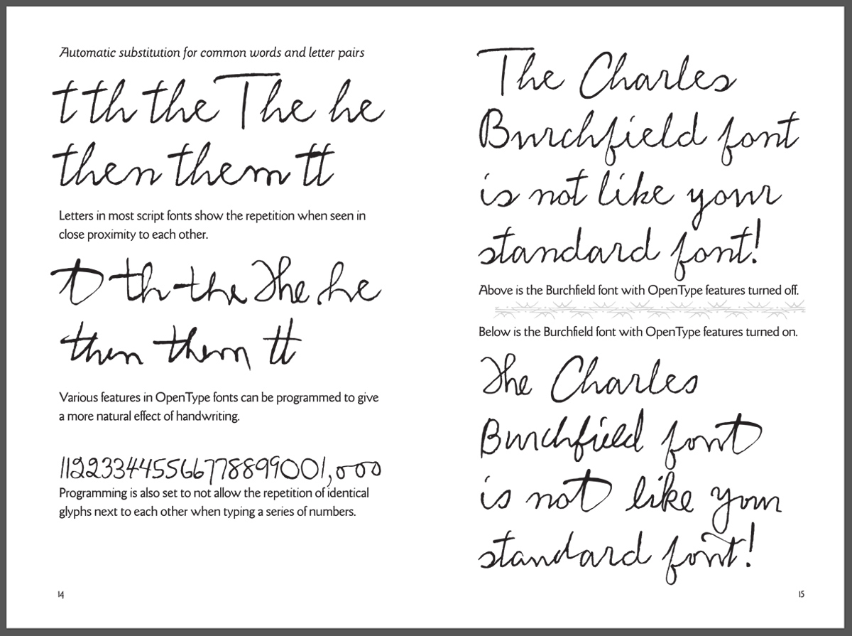 P22 Type Foundry Was Formed As A Result Of Making Single Font Based On The Handwriting Marcel Duchamp Created For Richard