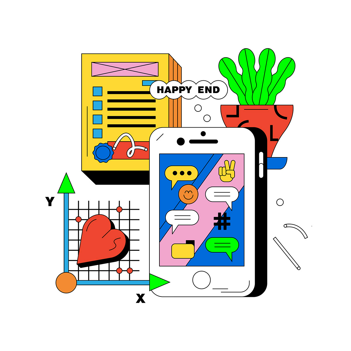 illustrations,Illustrator,itwazcool,vectorart