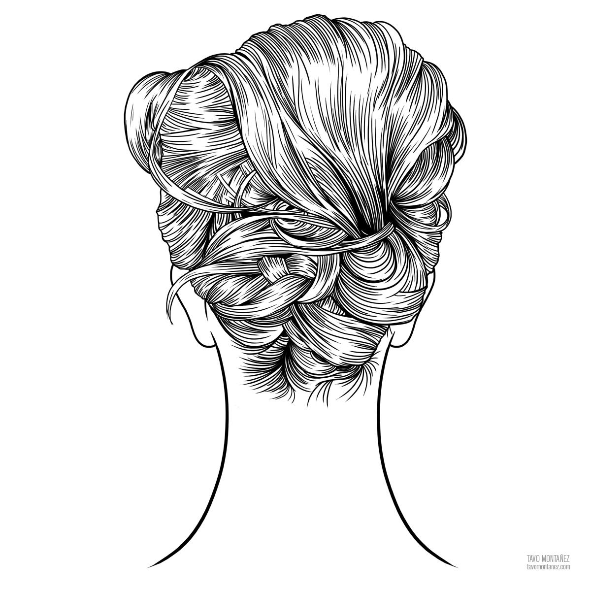 hair tv series on behance