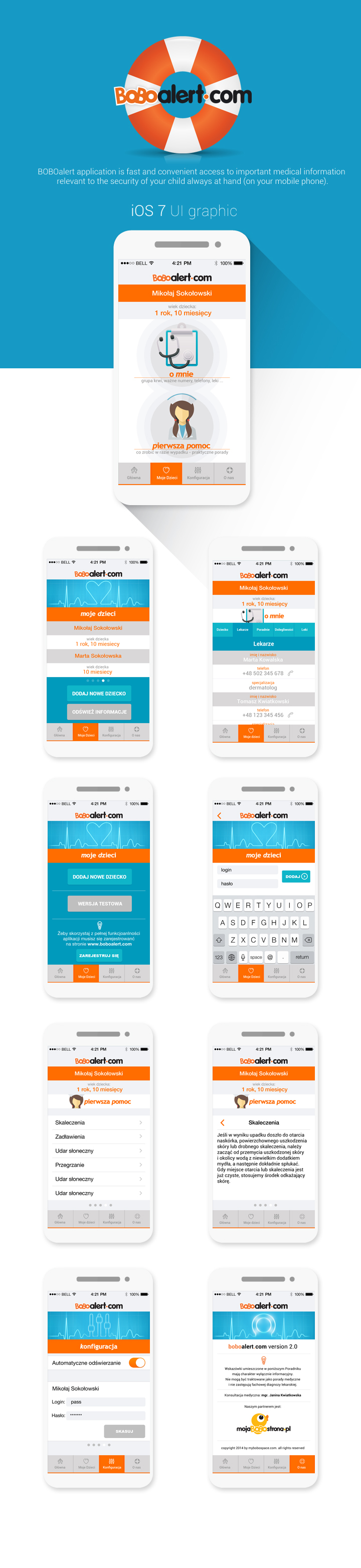 mobile phone mobile UI ios android