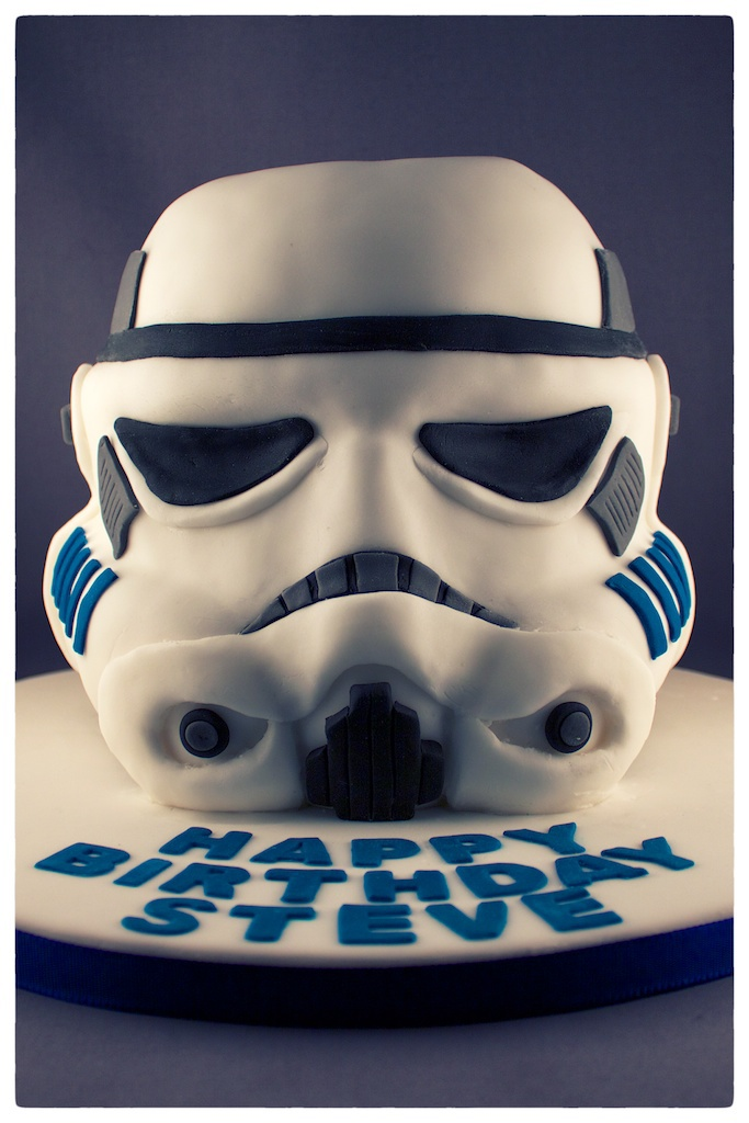 Sensational Andrea Hillman Stormtrooper Helmet Cake Personalised Birthday Cards Paralily Jamesorg