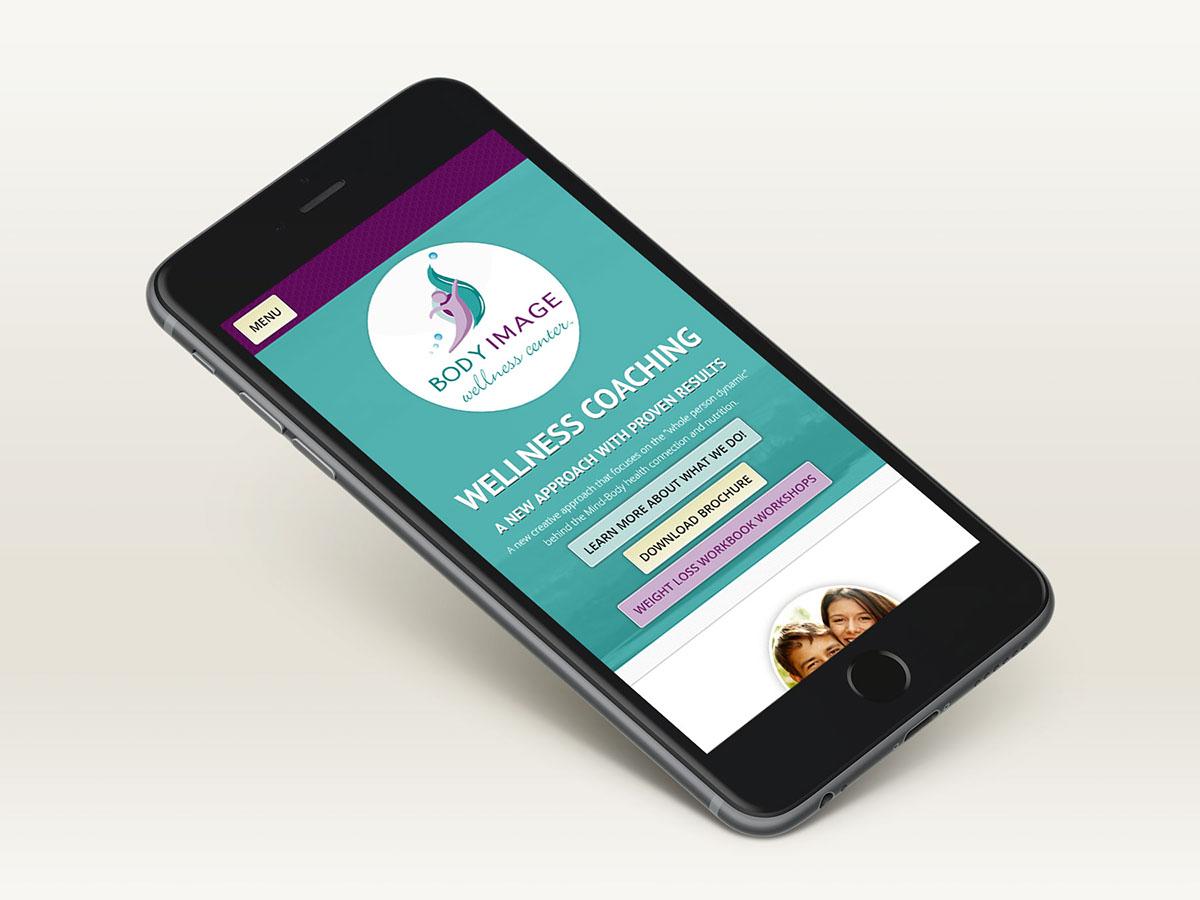responsive web development Startup Wellness life coaching