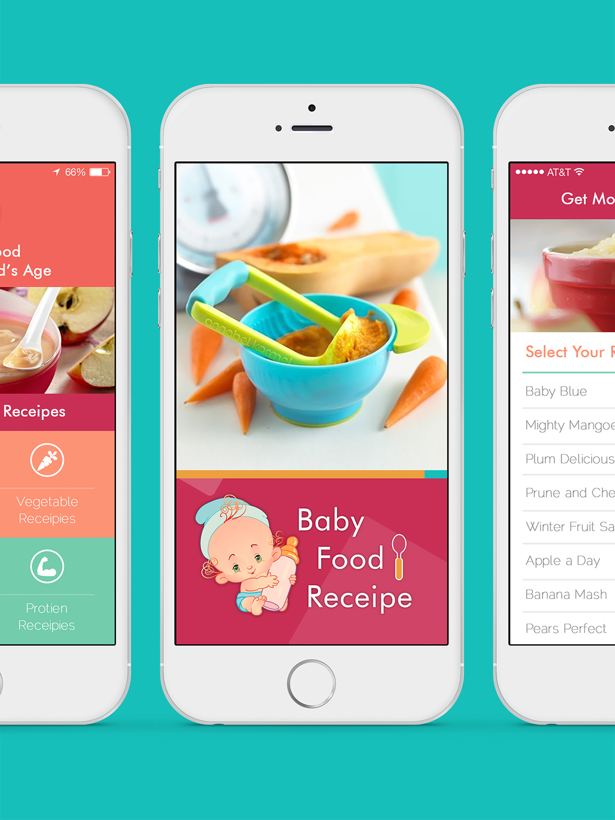 Baby food recipes mobile app design on aiga member gallery baby food recipes mobile app design forumfinder Gallery