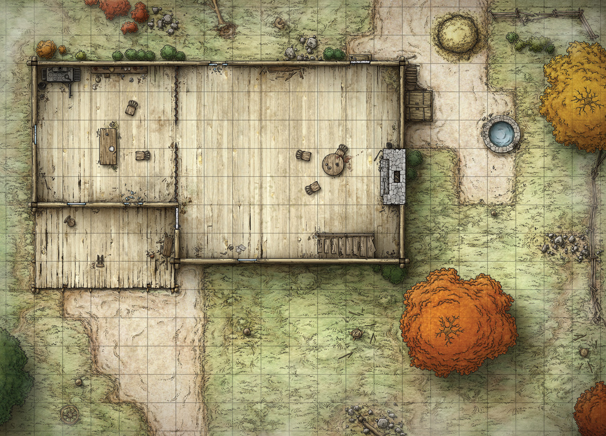 D&D Cabin Map