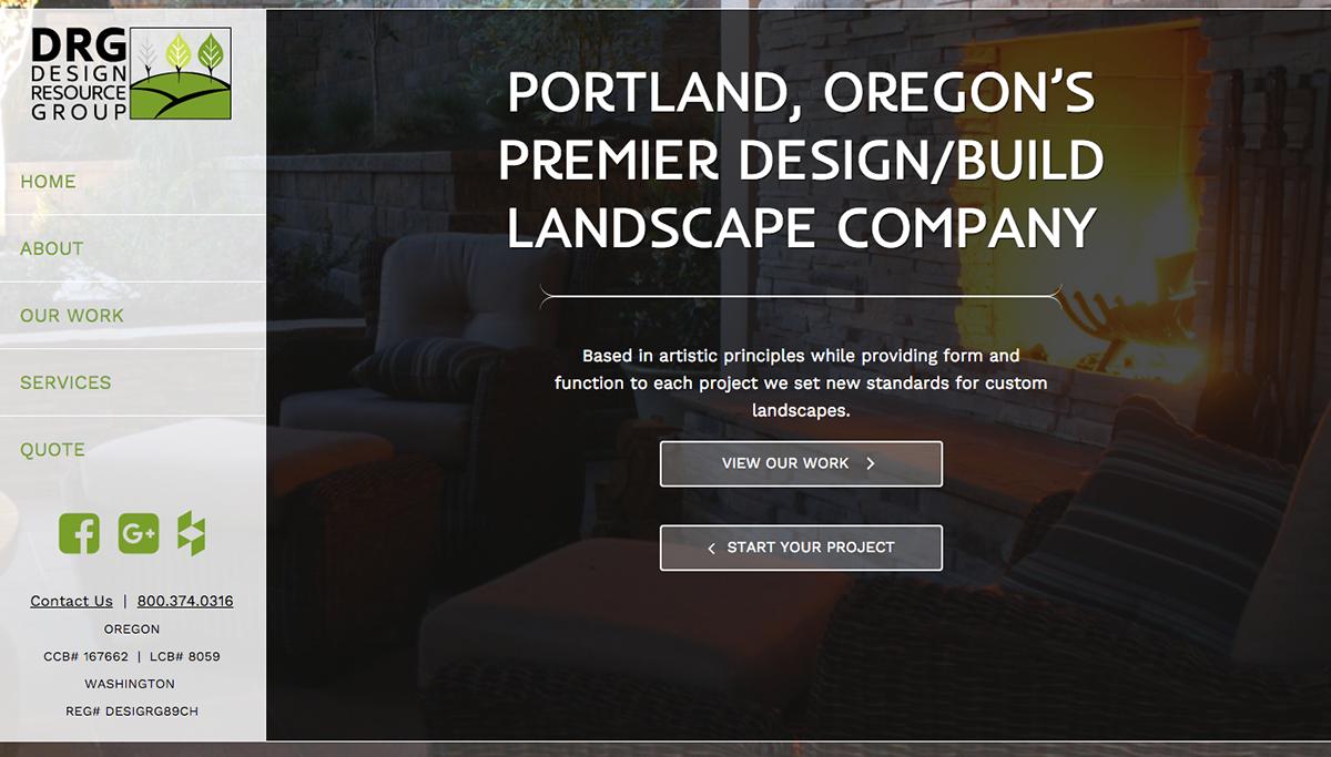 Design Resource Group Website