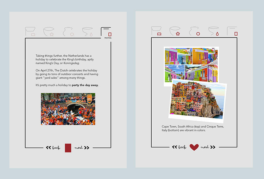 graphic design  icons integrated design