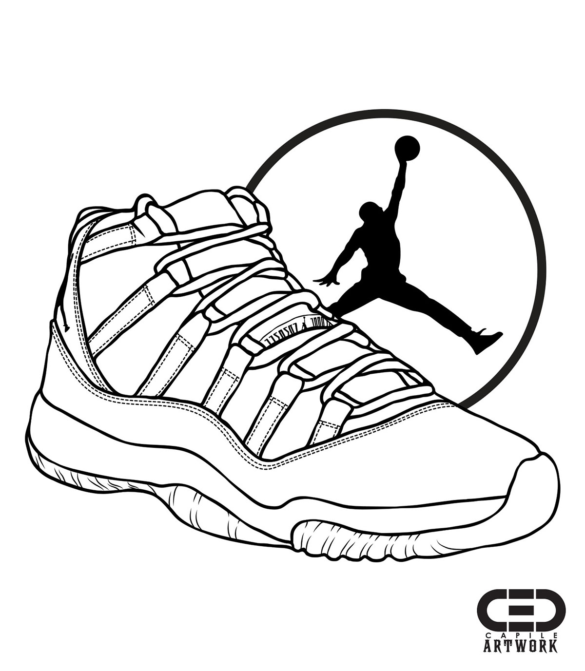 Jordan 11 (Breds) on Behance