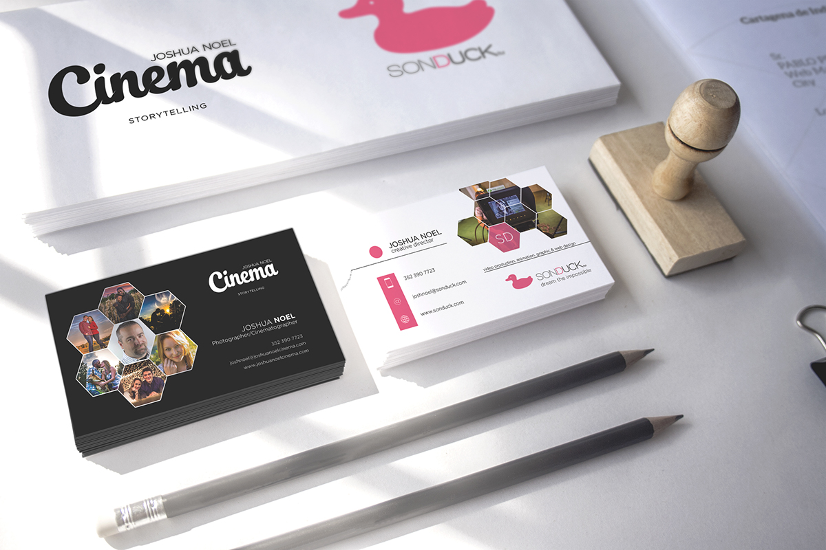 Two Brands, One Business Card on Behance
