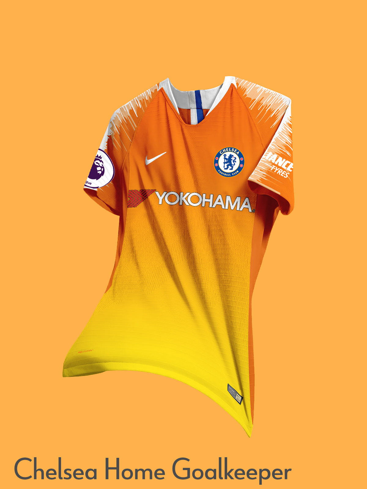 best sneakers 0cab4 91d93 Nike Chelsea Concept Kits | 2018-19 on Behance
