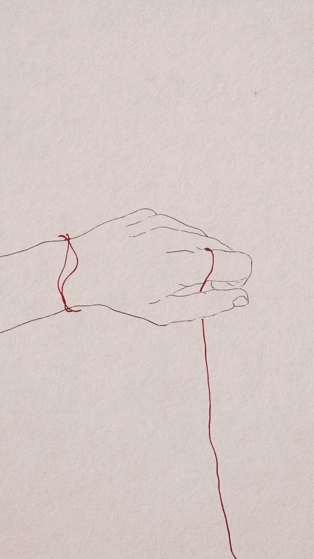 The Red String Of Fate On Behance