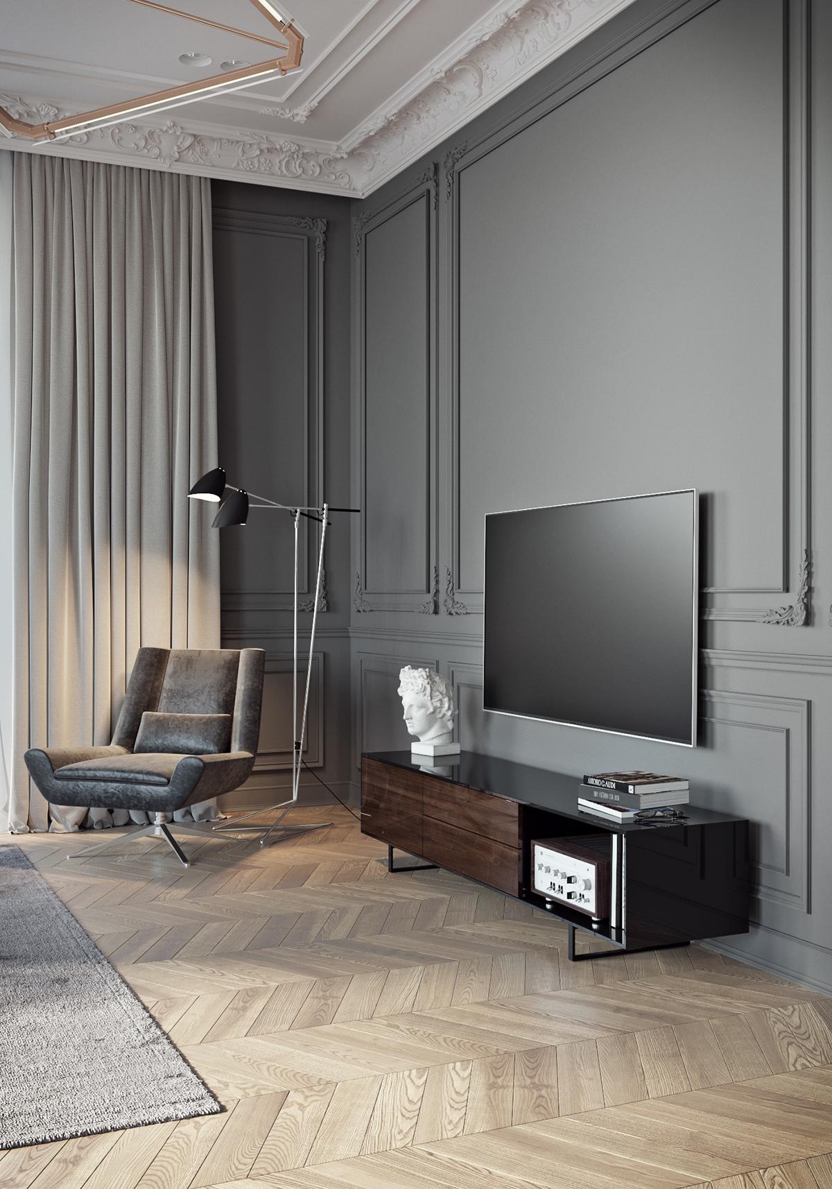 architecture,Interior,design,tolko,Classic,luxury,modern,Lux,apartment,flat