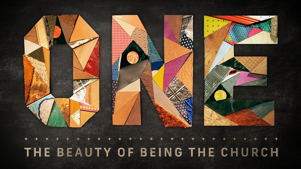 Sermon Series church build scrap collage