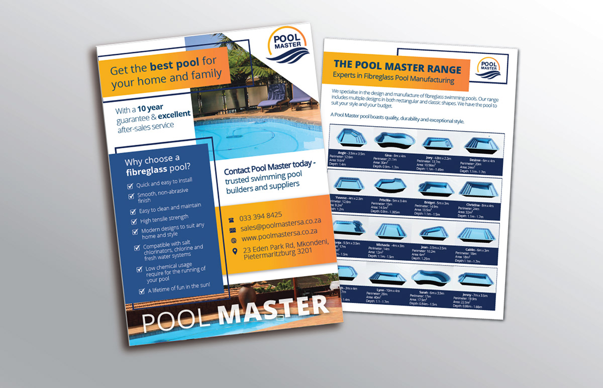 Pool Master Brochure - Pool selection, South Africa.
