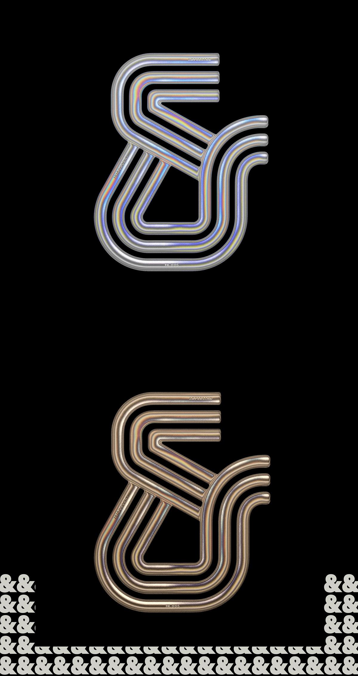 poster,branding ,Fashion ,editorial,metallic,metal,3D,modern,print