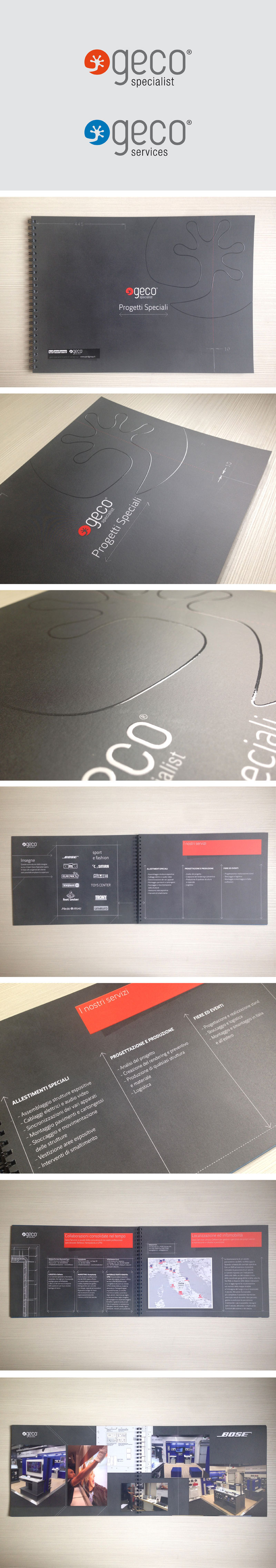 brochure brochure design Electronics spot varnish