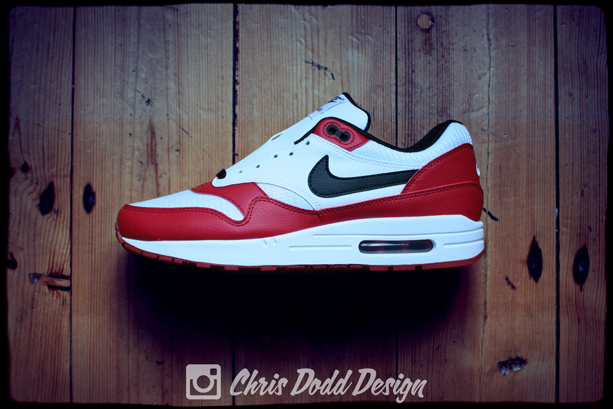 Nike Air Max 1 iD x Air Jordan 1 'Chicago' on Behance