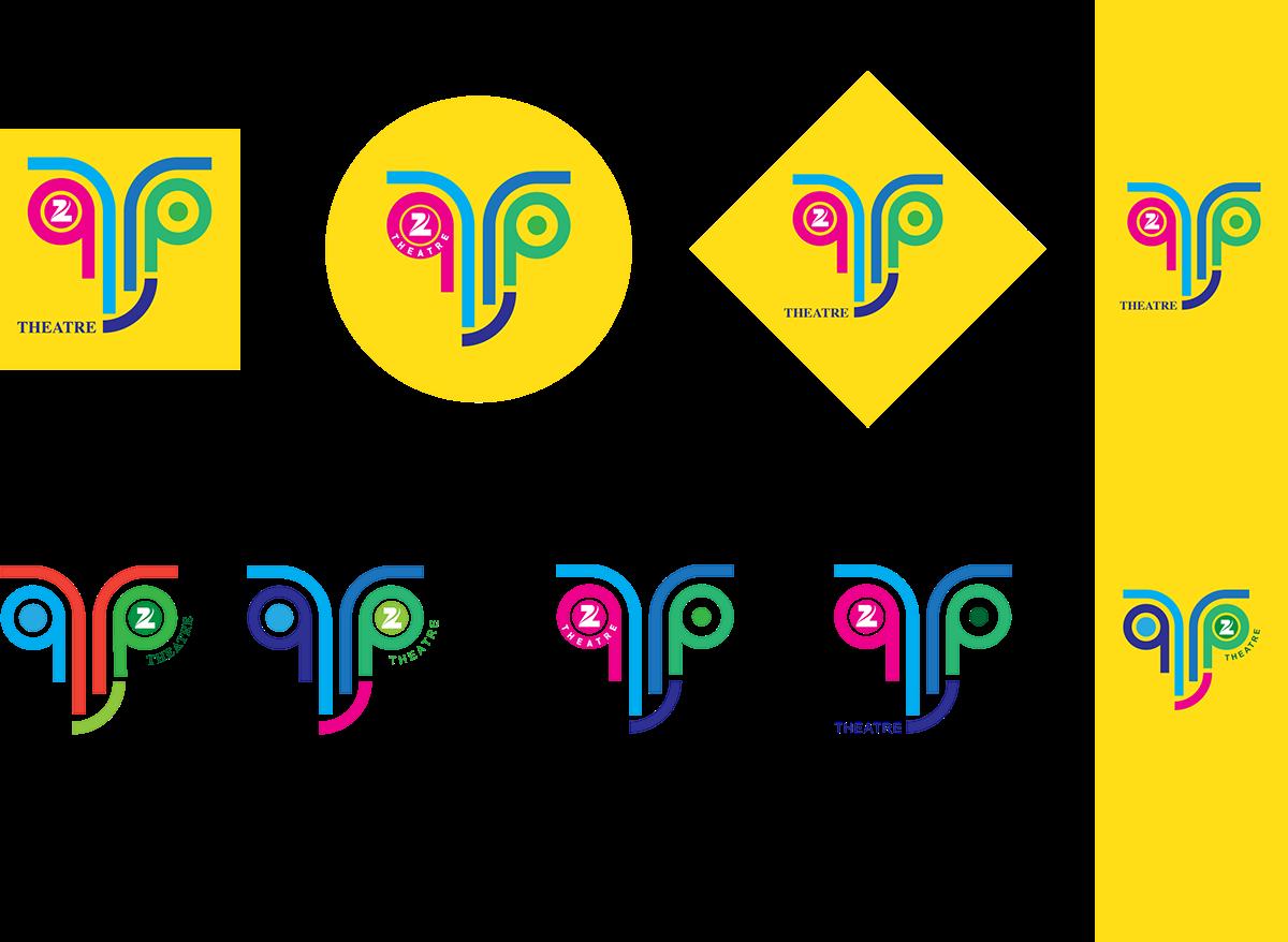 zee theatre logo rebrand on behance