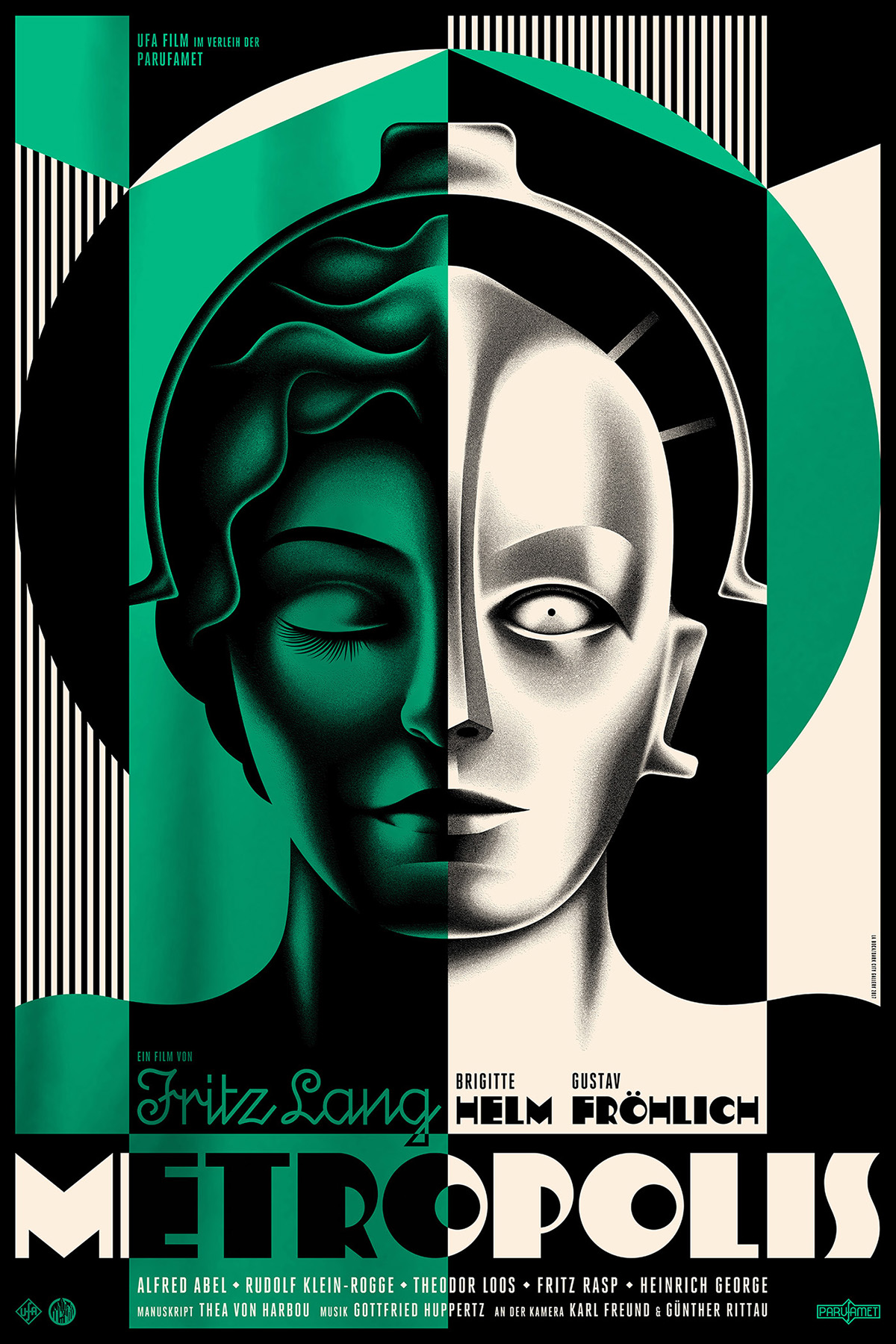 Metropolis Film Poster...