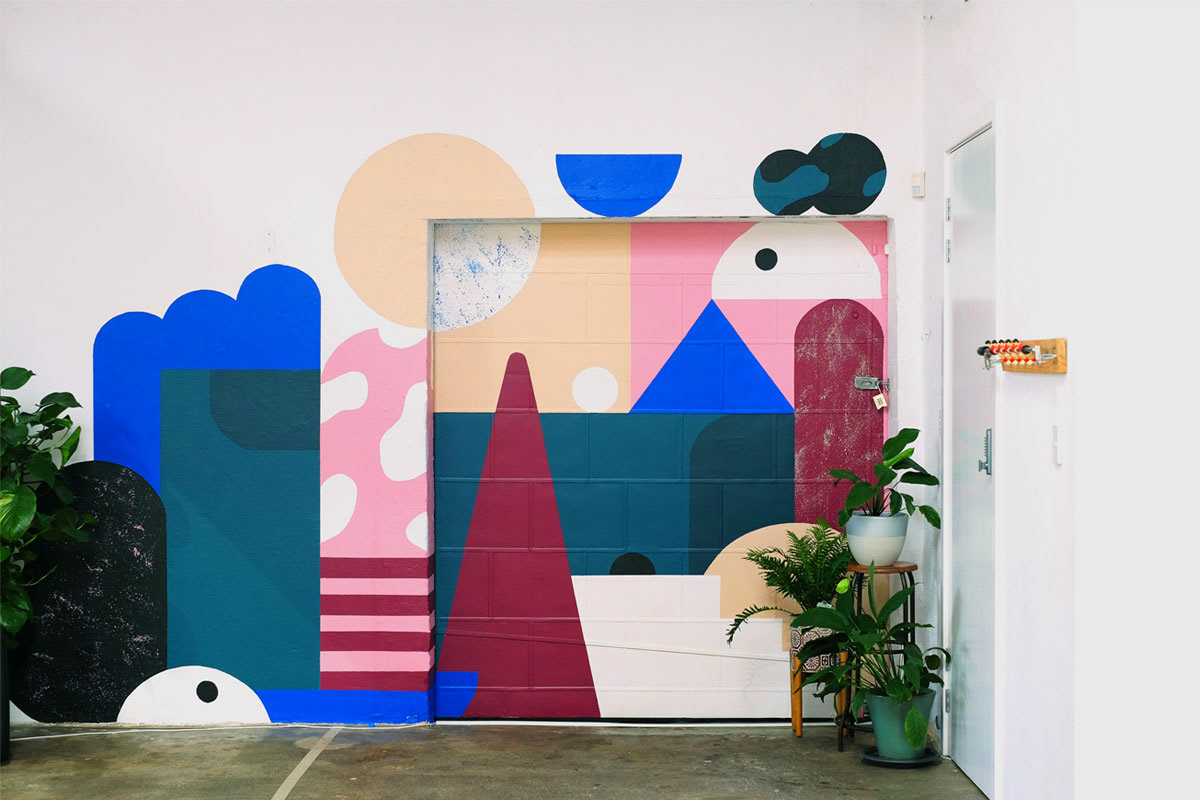 AR Mural: design, build and paint by Ustwo Sydney