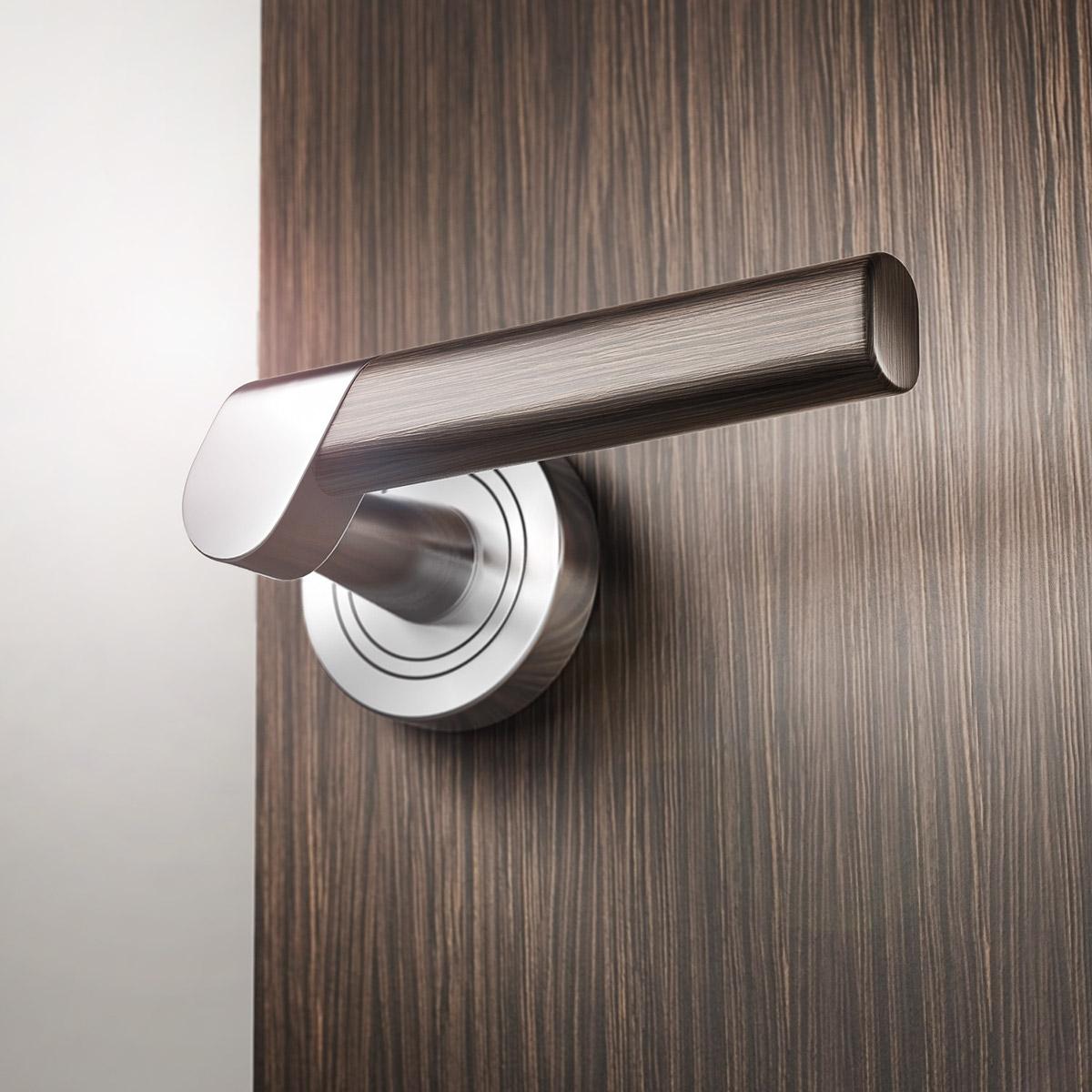 SLICE - door handle. //.facebook.com/redodesign.eu & SLICE - door handle on Behance