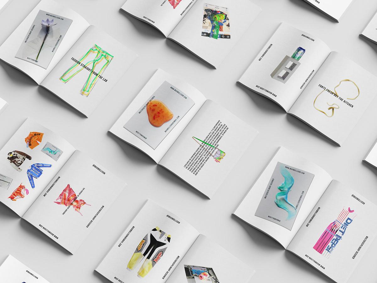 branding  identity clean contemporary art Fashion  graphic design  instagram max mollison mock up New Zealand
