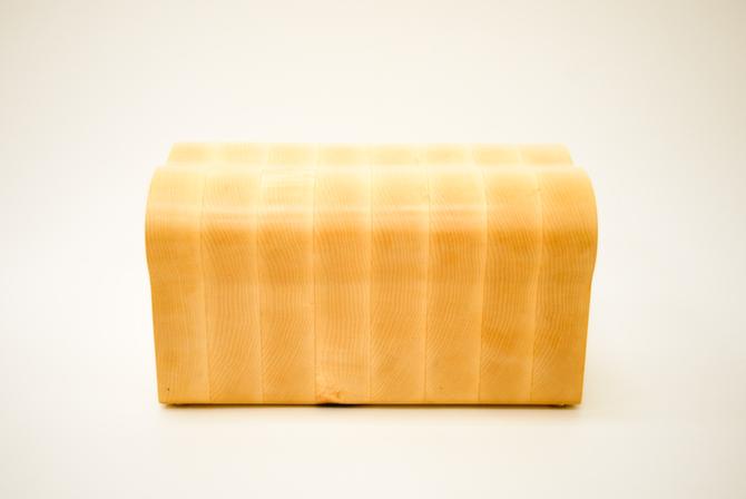 bread wood stool Step Stool maple walnut furniture robyn luk toast kitchen step stool loaf