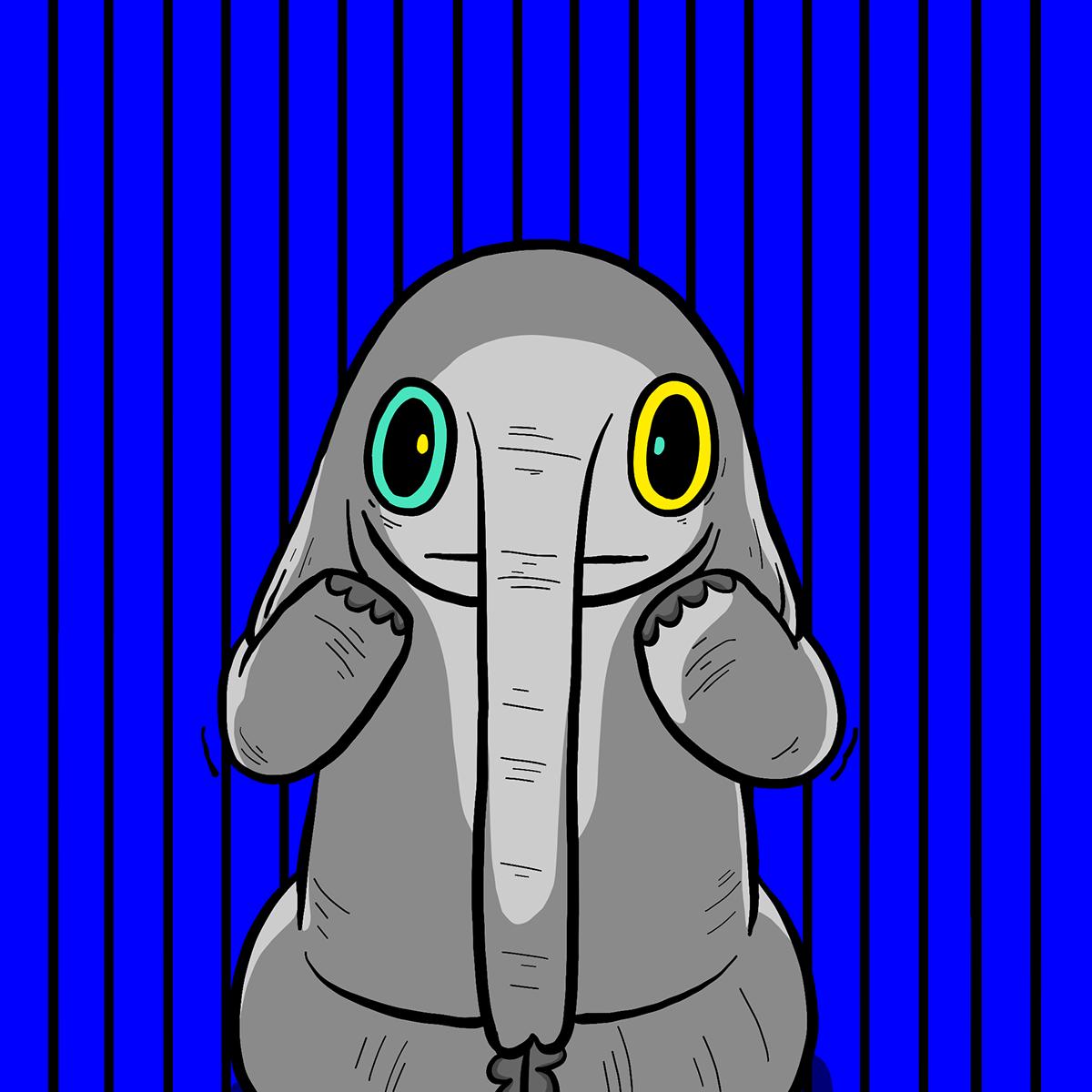 Image may contain: cartoon, animal and art