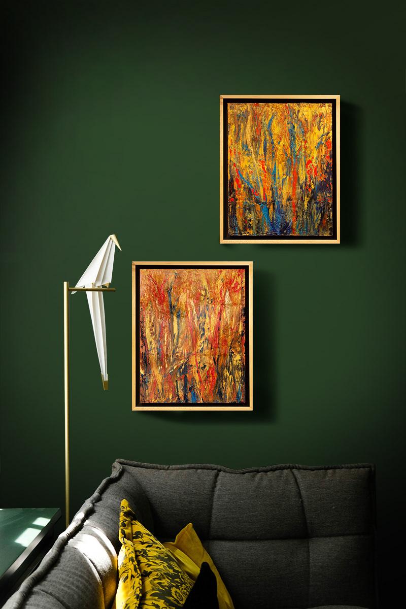 Image may contain: indoor, drawing and wall