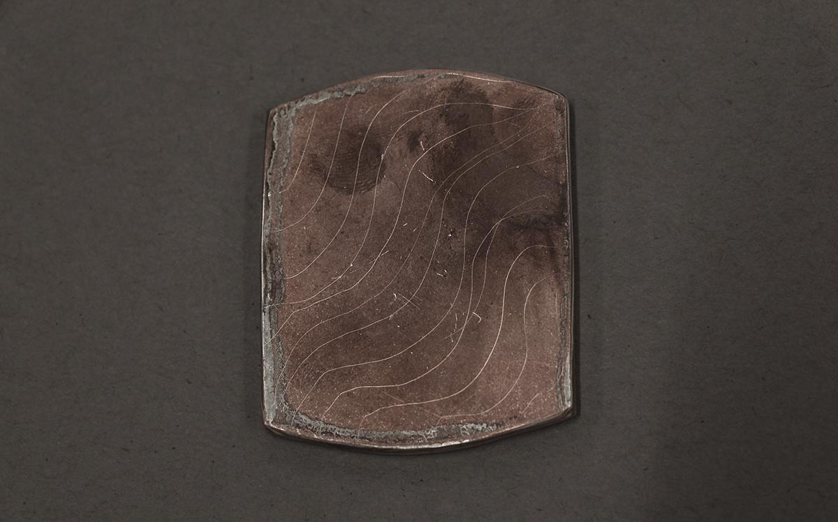 box container copper handmade japan metal mokume silver Silversmithing tea