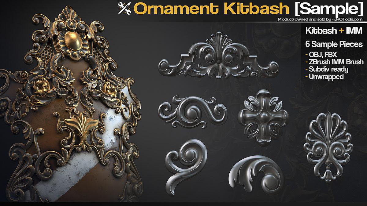 Ornament Kitbash [Sample] on Wacom Gallery