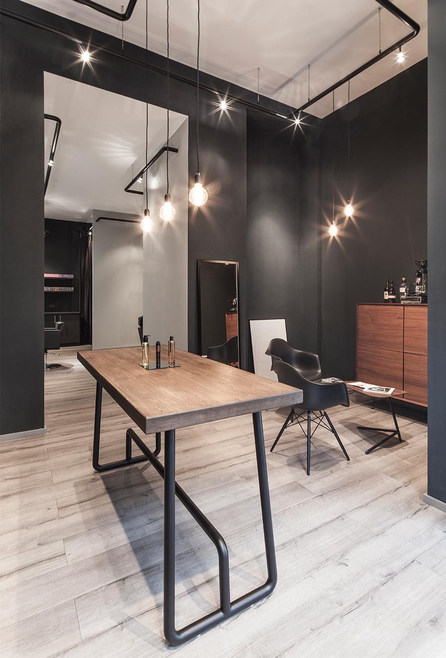 Bailas contemporary coiffure interior design on behance for Hillen interieur