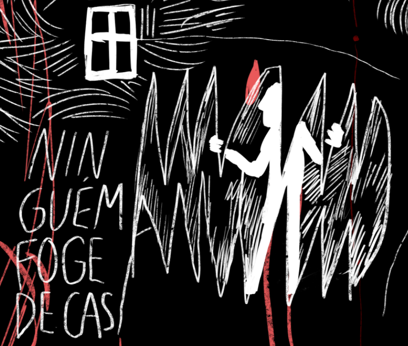 Image may contain: poster, drawing and cartoon