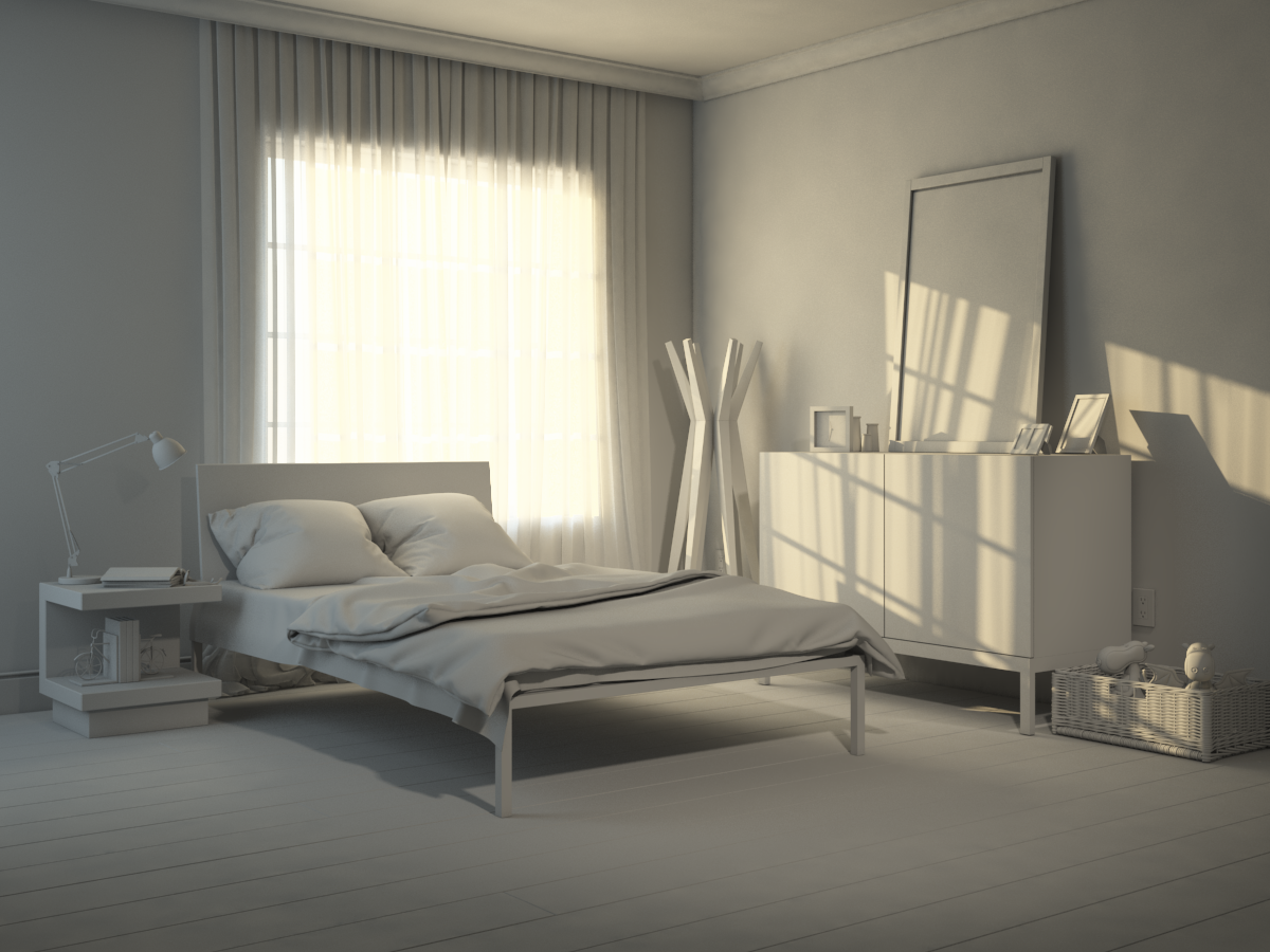 Bedroom Design Scene With 3ds Max Vray On Behance