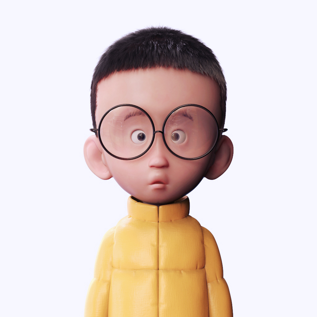 Funny Characters With Glasses