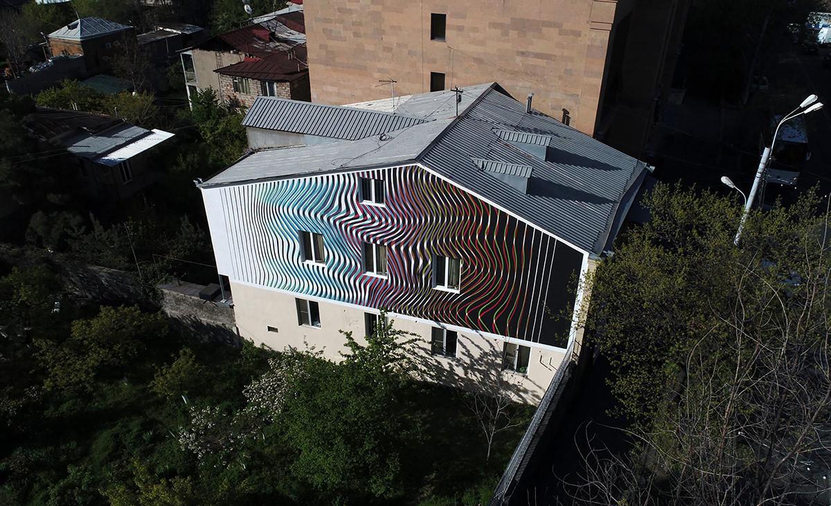 Yerevan Armenia ghost urvakan stfnv artem stefanov gradient Mural public art channels