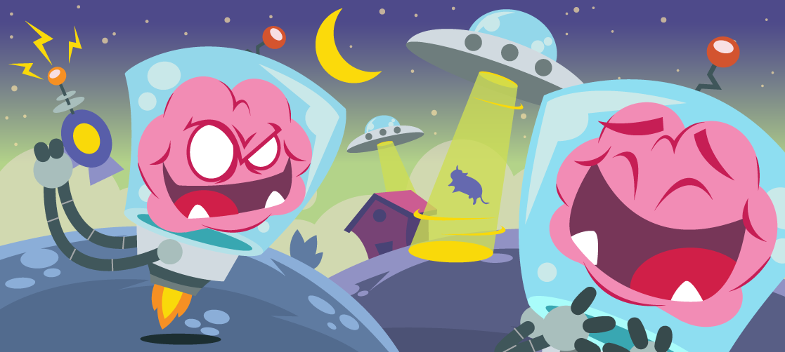 Brainy Animated Stickers Set On Behance