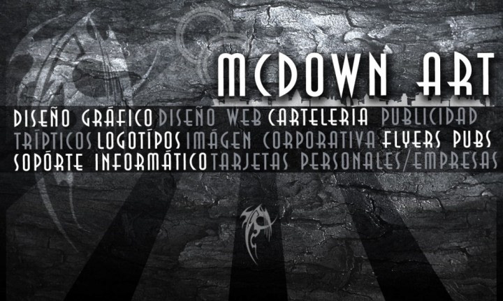 tarjeta,personal,Mcdown,designs,xavi,gomez