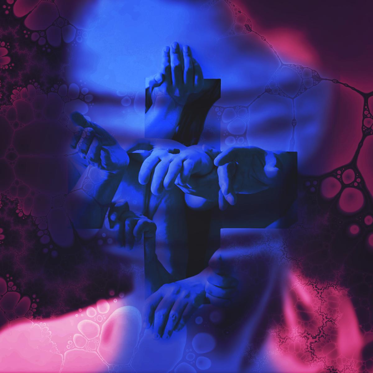music Cover Art hip hop collage Comtemporary New York religion jungle