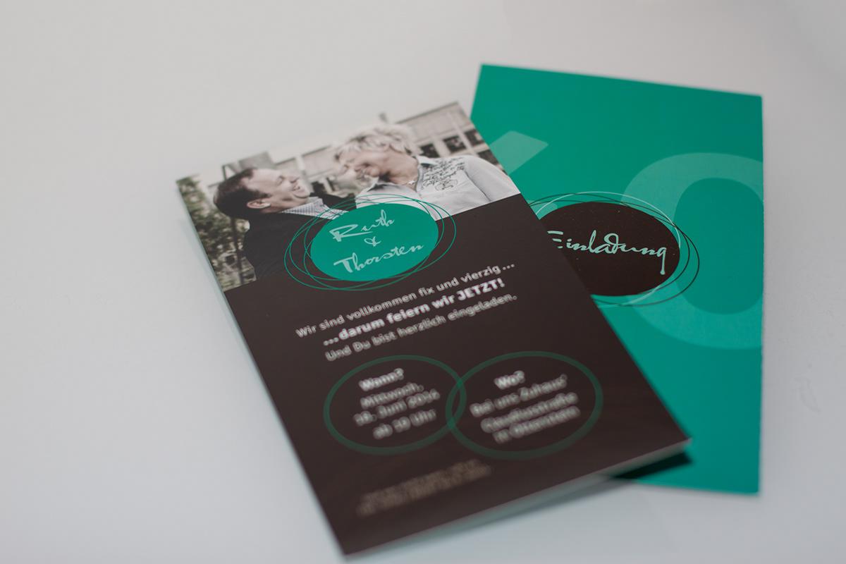 einladung Geburtstag Hochzeit Digitaldruck