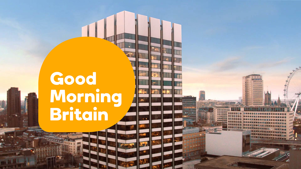 Good Morning Britain on Behance