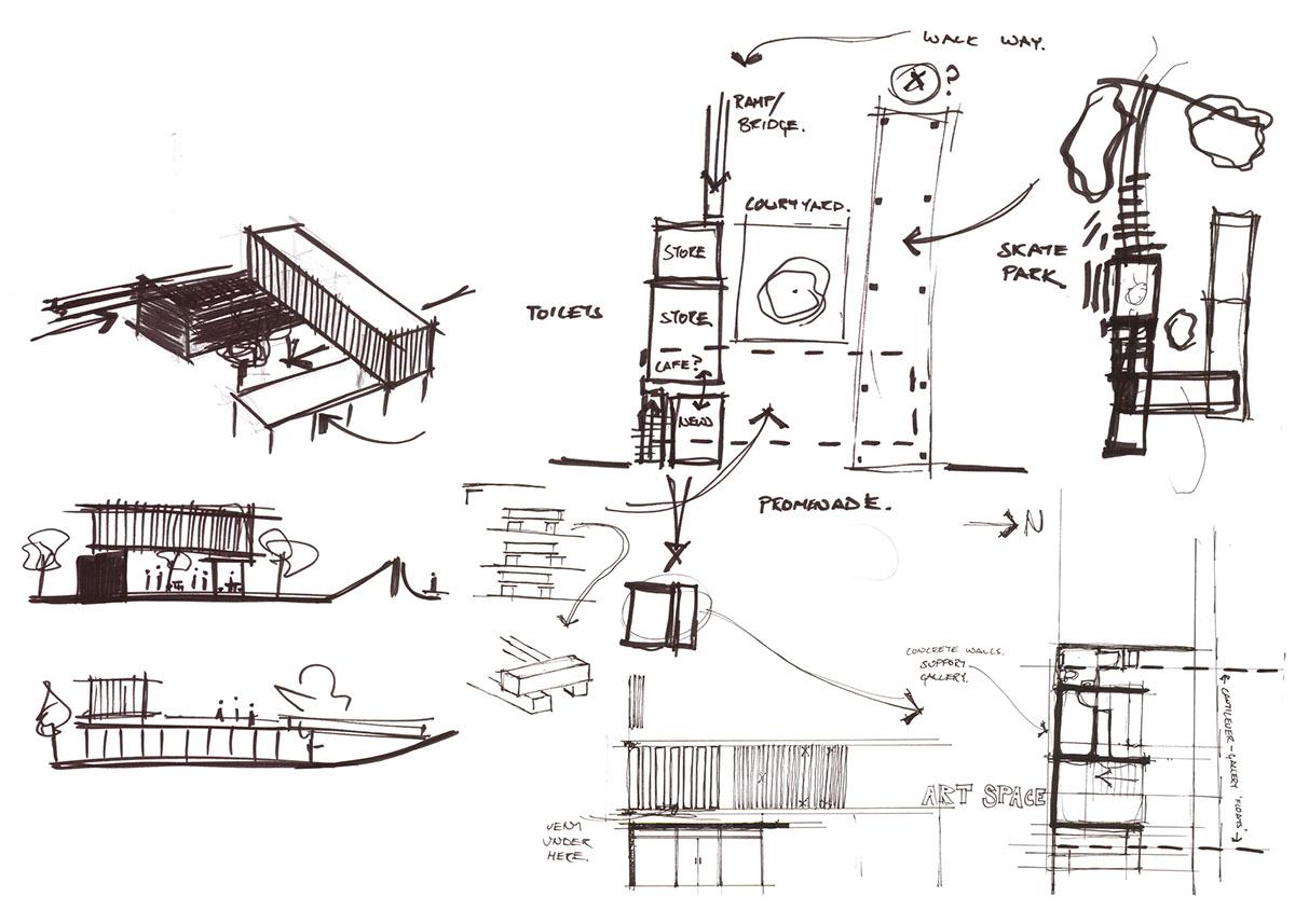 Adobe Portfolio Sculpture Gallery durban Beach Front James Page Design Test One Day Esquisse