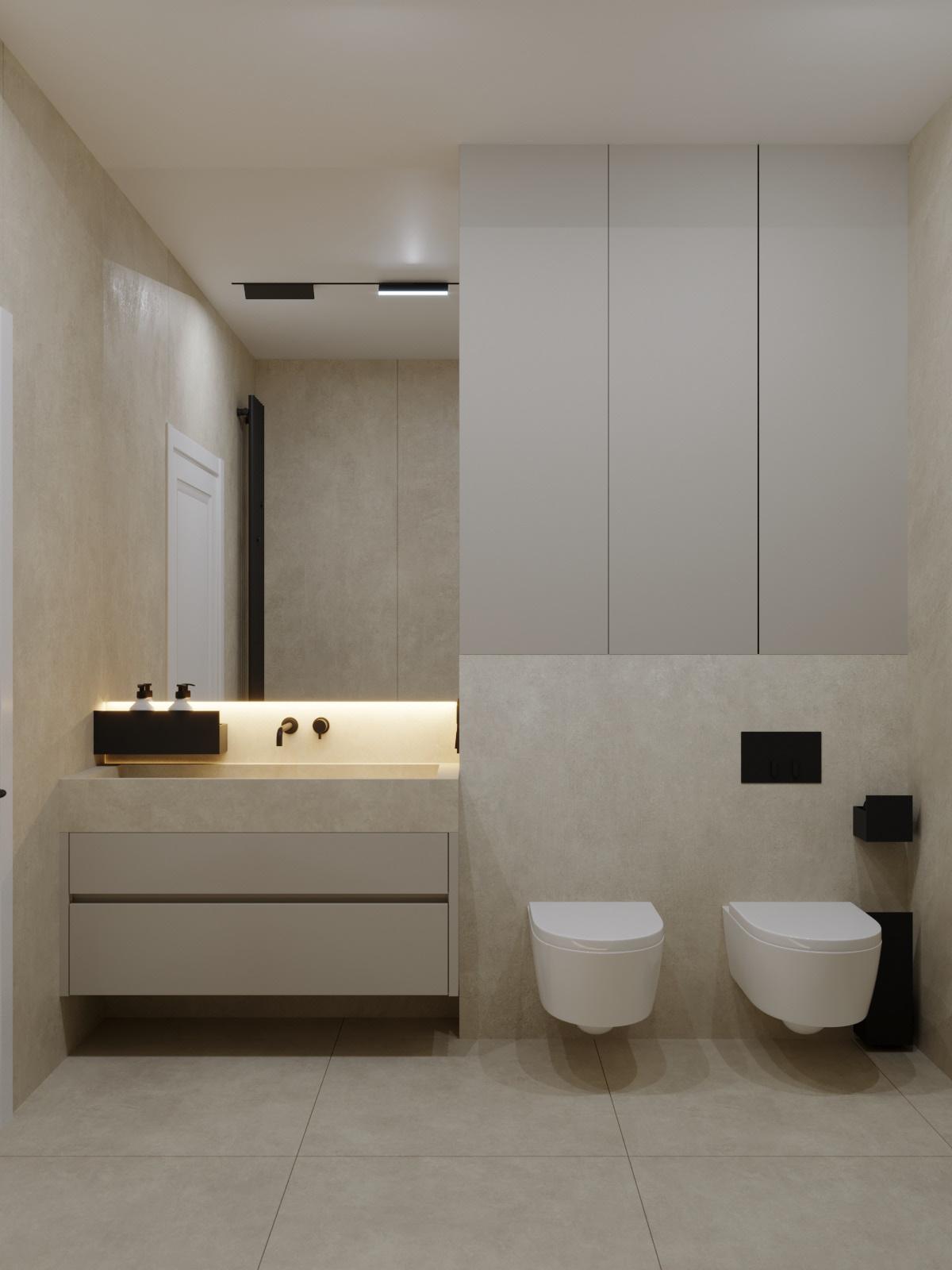 3D bathroom bathroomdesign corona design Interior Render visualization