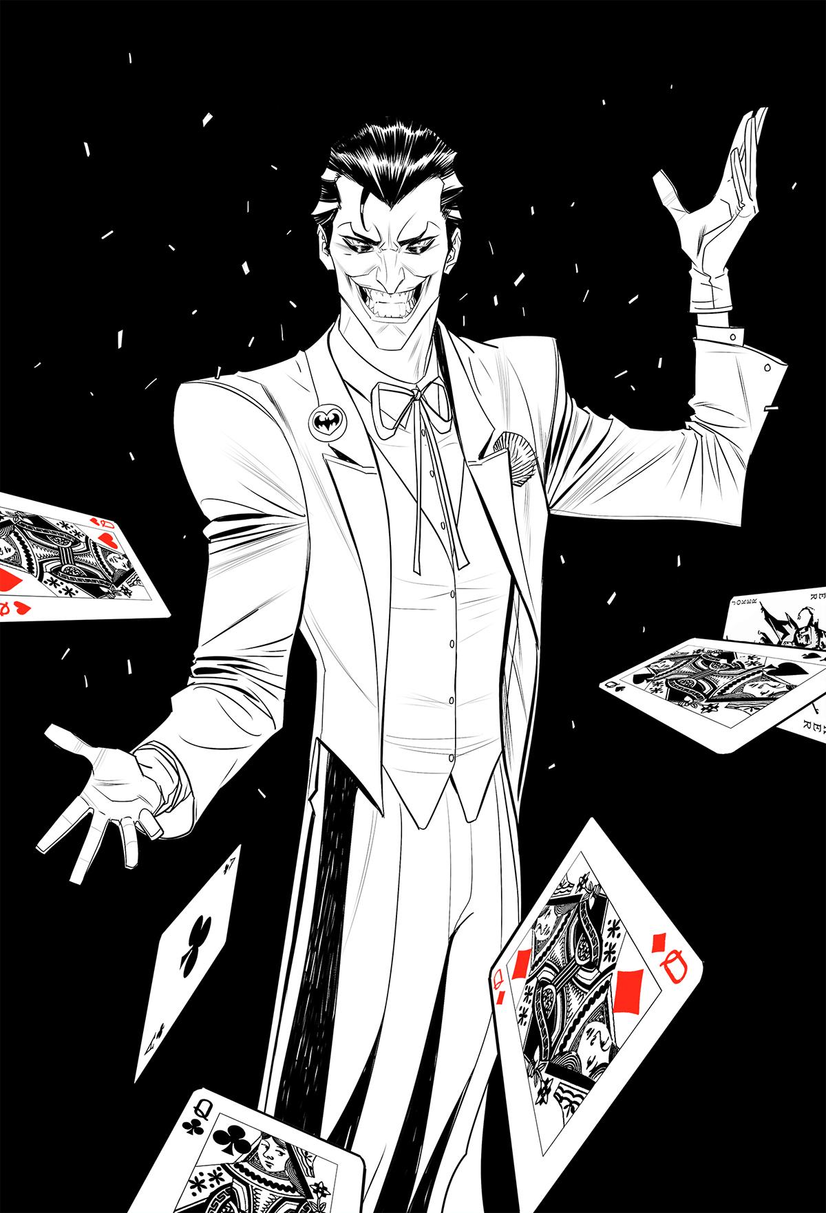 Classic Joker On Behance