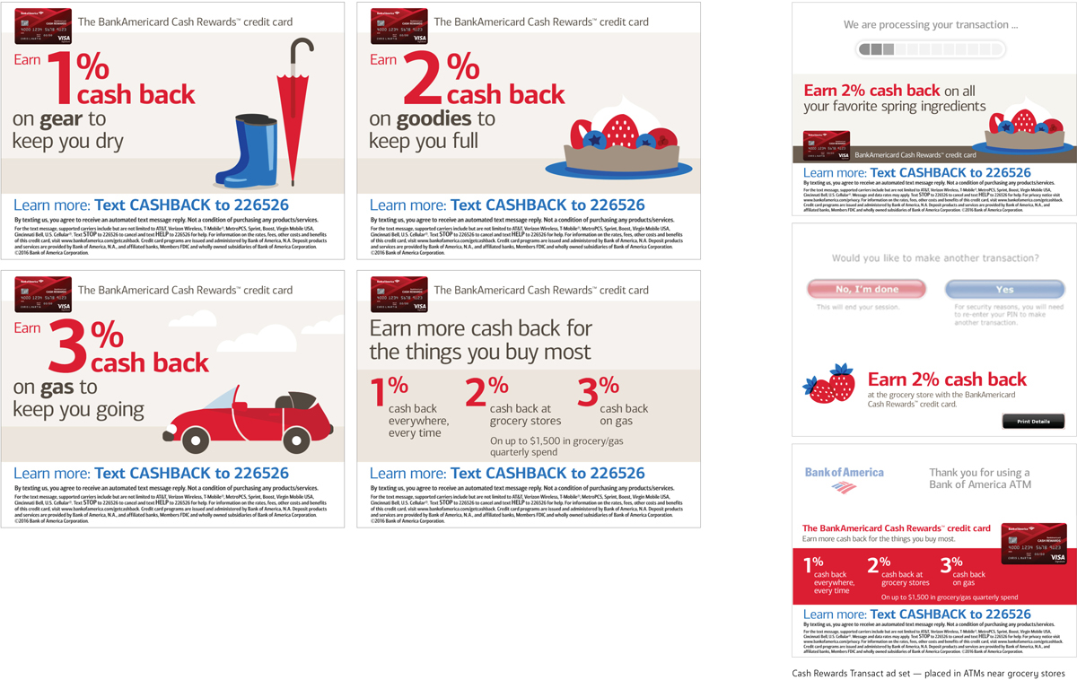 Bank Of America Atm On Behance