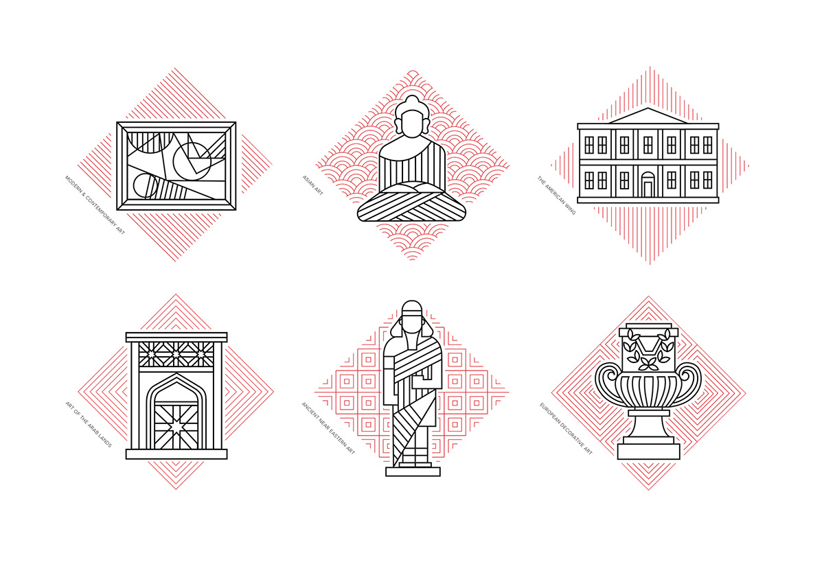 Metropolitan Museum Of Art Symbols On Behance