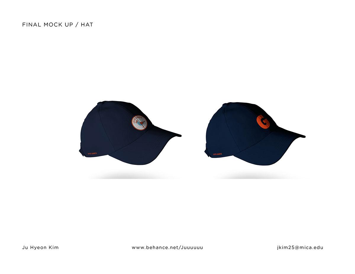 lotte giants Sports team graphic identity Busan baseball southkorea