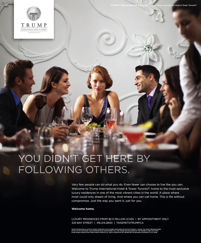 Trump Toronto Ad Campaign On Behance