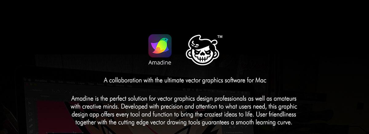 amadine ILLUSTRATION  mac vector vector art
